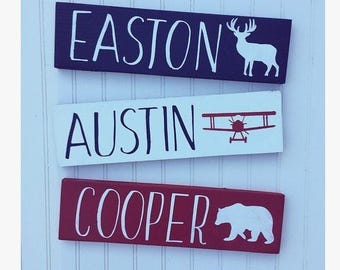 Rustic nursery sign name, rustic nursery decor, arrow nursery decor, nursery name sign