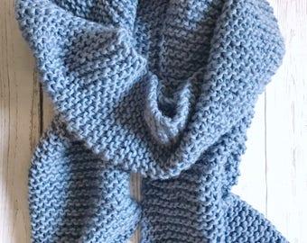 Crochet Chunky Super Scarf