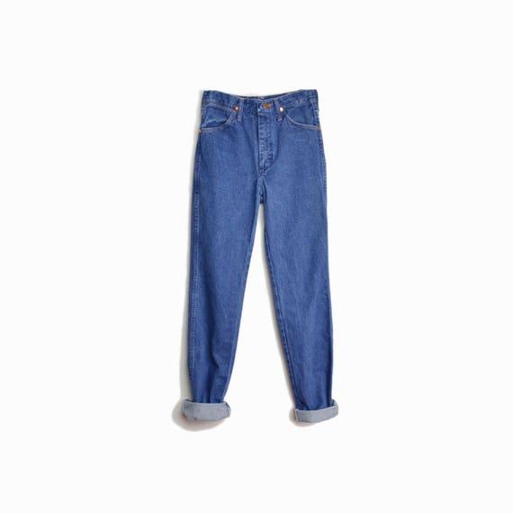 Vintage 90s Wrangler Boyfriend Jeans / Straight Leg Boyfriend Denim / Wrangler Jeans - women's xs long