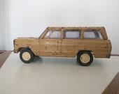 Vintage Tonka Wagoneer / Vintage Tonka Toy / Tonka Jeep Toy / Metal Vintage Vehicle Toy / Kids Toy / Truck Toy
