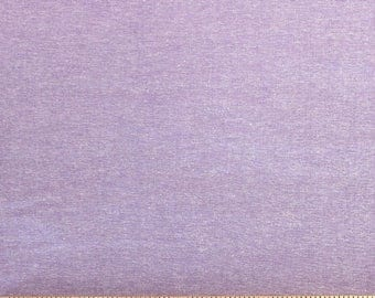Lavender Purple Medium Weight Chambray, 1 Yard