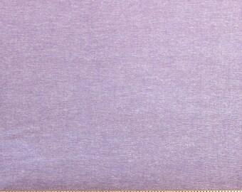 Lavender Purple Medium Weight Chambray, 1 Yard