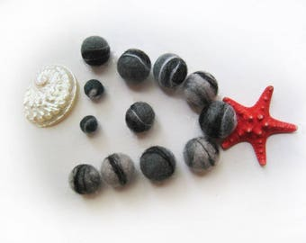 "Beads ""Sea pebbles"""