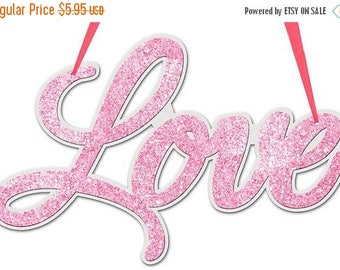 15% OFF 14.5 Inch Love Sign MS710022, Valentine Decor, Valentine Decorations, Wreath Decor