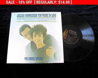 August Vinyl Blow Out 10% OFF Already Low Prices Jewish Rhapsodies for Those In Love Vintage vinyl  Record Album  Lp  Jewish featured in
