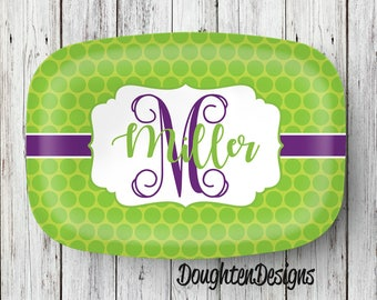 Personalized Platter, Serving Platter, Serving tray, Monogrammed platter, Design your own platter, Wedding Gift Keepsake, Housewarming gift.