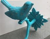 Bird Hook, Decorative Hook,  Shabby Chic Hook, Wall Hook