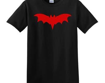 Franken Bat Black Mens T-Shirt Available in S-Xl