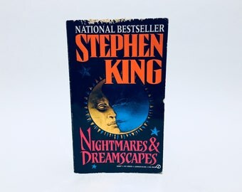Vintage Horror Book Nightmares & Dreamscapes by Stephen King 1994 Paperback Anthology