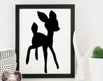 Deer / Fawn - SVG CUT FILE