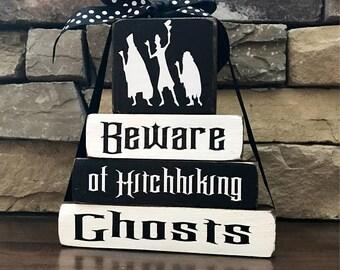 """Halloween """"MINI"""" stacker--Beware of hitchhiking..."""