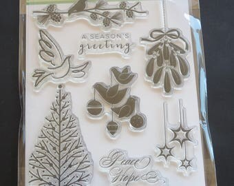 """Penny Black Clear Stamps 5""""X7"""" - Peace & Harmony Grab This While You Can! - Discontinued"""