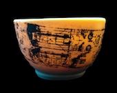 ISS Shuttle Lithographed Translucent Porcelain Mug
