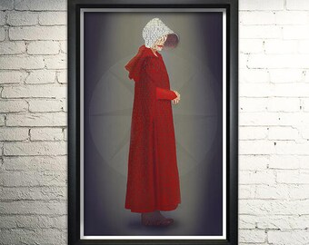 Handmaid's Tale Word Art Print, Wall Art, Offred Quotes