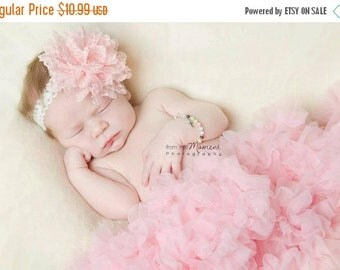 10% SALE HUGE special 3 chiffon headbands for only 10.99 newborn headband, baby headband, photo prop chiffon flower headbands or clips