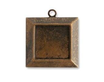 Vintaj Brass Picture Frame , Qty: 1
