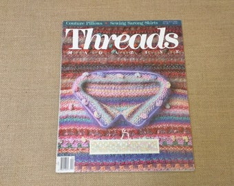 Threads Magazine April May 1990 Back Issue Number 28