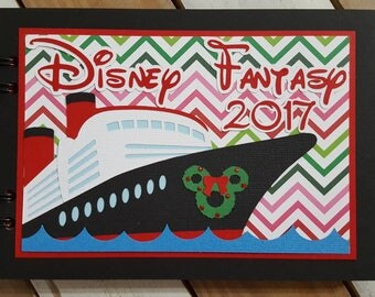 Christmas Disney Cruise Autograph Book