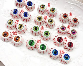 10pcs 5pairs high quality glass eyes / eyeball cameo / doll eyes / animals eyes / doll making X-T