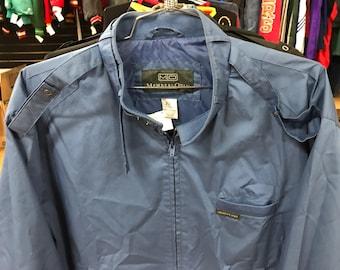 Vintage Blue Members Only Jacket XL