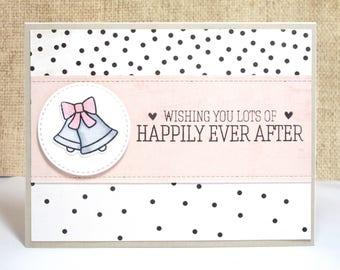 Wedding Bells Card- Wedding Bells- Wedding Card- Happily Ever After- Congrats Wedding