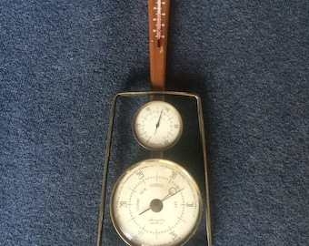Airguide thermometer, relative humidity and barometer gauge