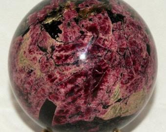 "Eudialyte Eudialite Sphere Ball 3.3"" Russia"