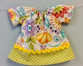 Doll Clothes Waldorf Doll Dress for a 12-inch Waldorf Doll