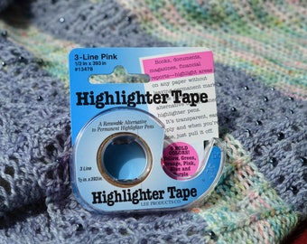 Highlighter Tape - Removable - half inch