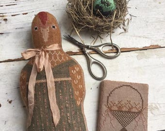 Pre-order 2018 Nashville Market STACY NASH Henrietta Animal Crackers counted cross stitch patterns at thecottageneedle.com
