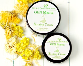 Nursing Cream | Organic | Breastfeeding | Nipple Cream | Nipple salve | Nursing Balm | New Mom Gift | Pregnancy Gift | Baby Shower gift