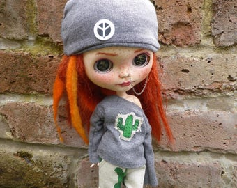 Blythe Cactus Streetwear outfit   (BD10417)