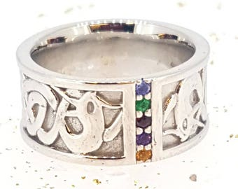 Sterling Silver Celtic Herin ring