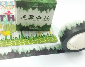 Mist Forst Washi Tape (15mm X 7M)