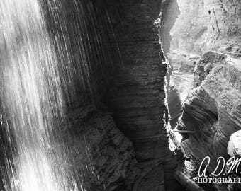 Behind The Falls - Fine Art Photography