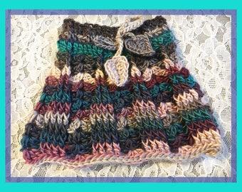 Primavera Skirt Newborn Size in Tealberry - Ready to Ship