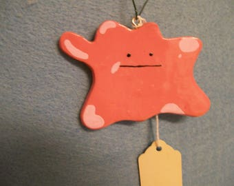 DITTO POKEMON inspired christmas ornament