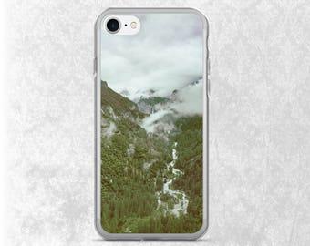 Nature iPhone 7 Case, Waterfall iPhone, Yosemite California iPhone 6 Case, Scenery Galaxy S7 Case, Crashing Waterfall, Yosemite California