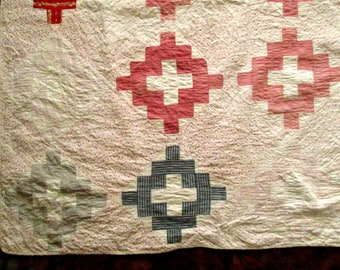 Antique, Vintage Quilt, Hand Quilted, Great Condition