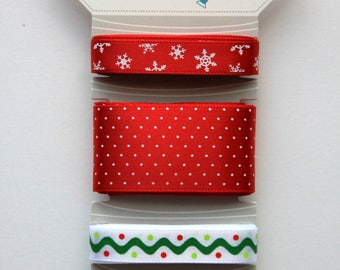 KimberBell Christmas Ribbon Collection