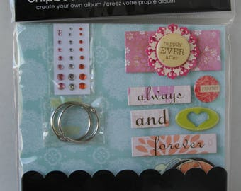 me&my BIG ideas Chipboard album kit, Daydream - Happily Ever After
