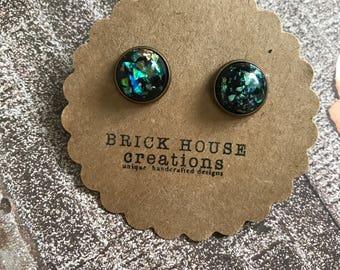 Black Sea Gold Foil Earrings