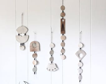 Modern Clay Wall Decor. Renegade Wallhangings.