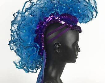 Mohawk Headdress Headpiece
