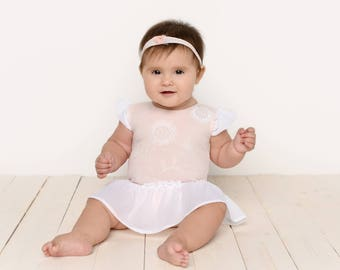 Pink Sitter Romper, 2 Piece Photo Prop Outfit, MADE TO ORDER