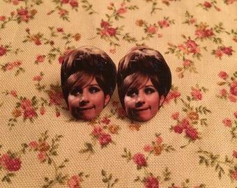 Barbra Streisand Earrings