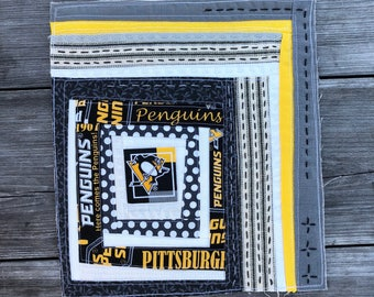 Pittsburgh Penguins Mini Quilt (Framed)