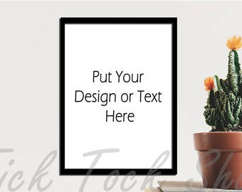 Cactus and Frame image : Styled Stock Photos / Digital Stock Photo / Stock Images / Preserved images / Wedding card