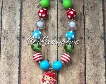 Little Mermaid Chunky Beaded Necklace