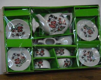 Vintage Miniature Tea Set made in Japan